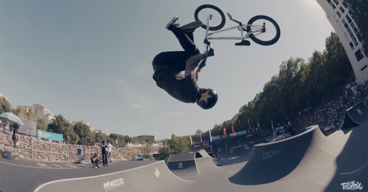Total BMX at FISE Montpellier 2017