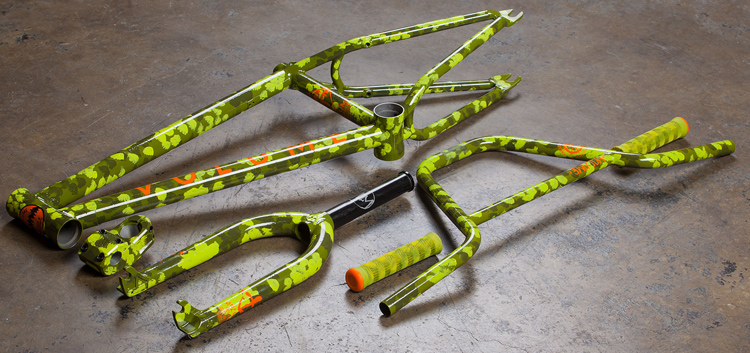 Volume Bikes – Northwest Green Colorway Kit