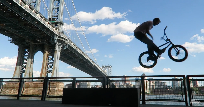 Billy Perry – Daily Cruise: BMX Along The East River