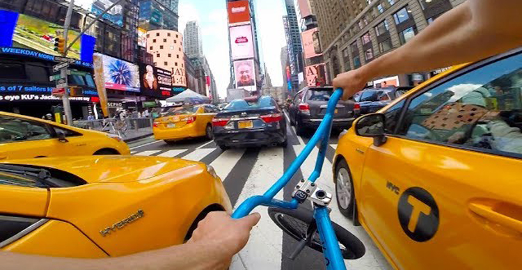 Billy Perry - GoPro BMX Riding In NYC 7