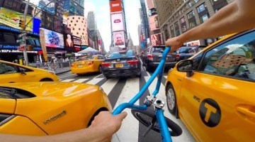 Billy Perry GoPro BMX Bike Riding New York City