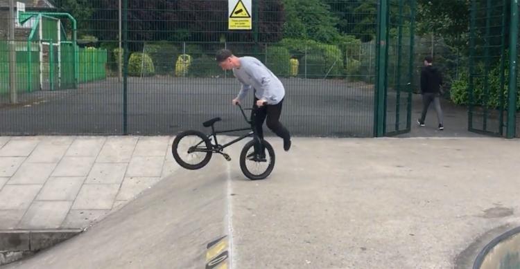 DUB BMX – Sam Jones at Clitheroe Plaza