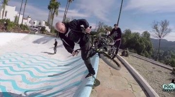 Rick Thorne Pool Seekers BMX video