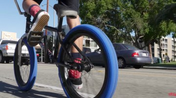 Stranger BMX Ballast Tire promo video Eric Lichtenberger