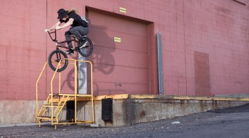 Ben Austin Stray 3 BMX Photos - Reed Stark