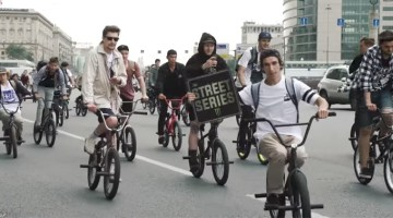 The Street Series 2017 BMX Day Video Moscow Russia