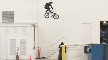 "Garrett Reynolds The Trip ""Trip Tape"" BMX video"