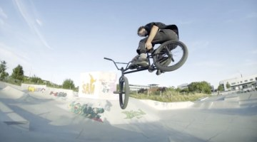 Justin Rudd One Day Mannheim BMX video