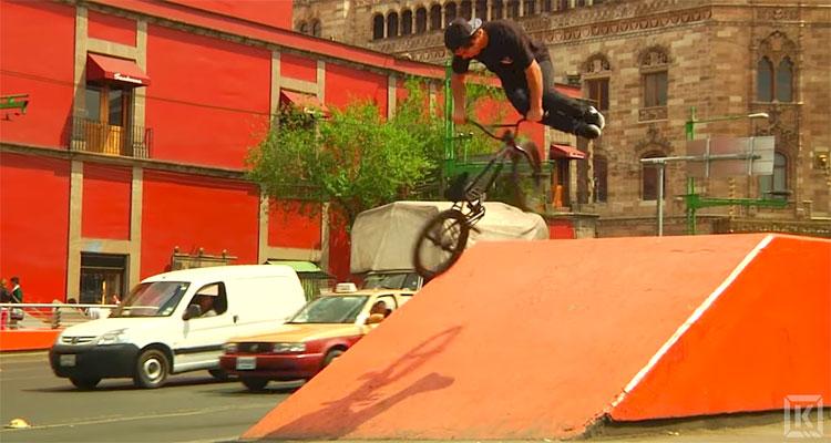 Kink BMX Tony Hamlin Mexico City Video