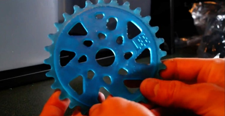 3D Printed BMX Sprocket