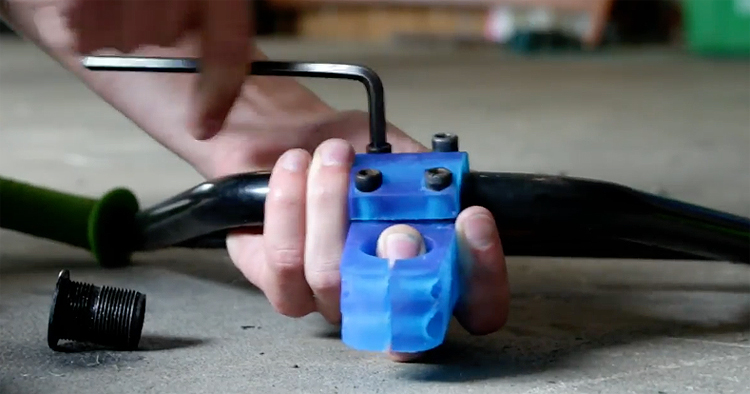 3D Printed BMX Stem and How To 3D Print BMX Parts