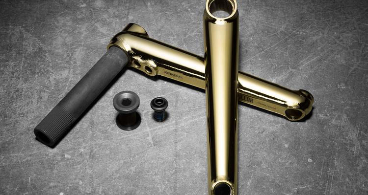 Kink BMX – Gold Parts Colorway