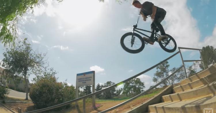 Kink BMX – Travis Hughes SXTN Stealth Seat Promo
