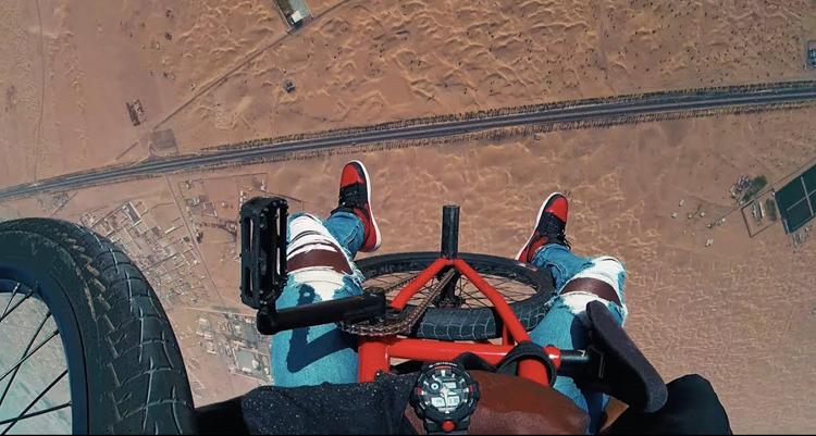 """Nigel Sylvester – """"GO!"""" Dubai"""