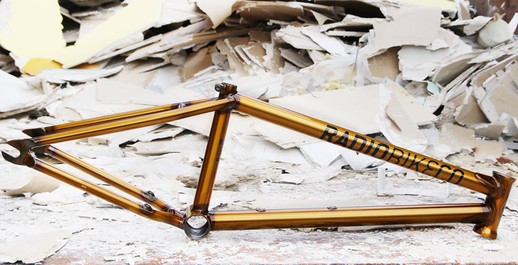 Sneak Peek: Radio Bikes – Brian Fox Signature Frame