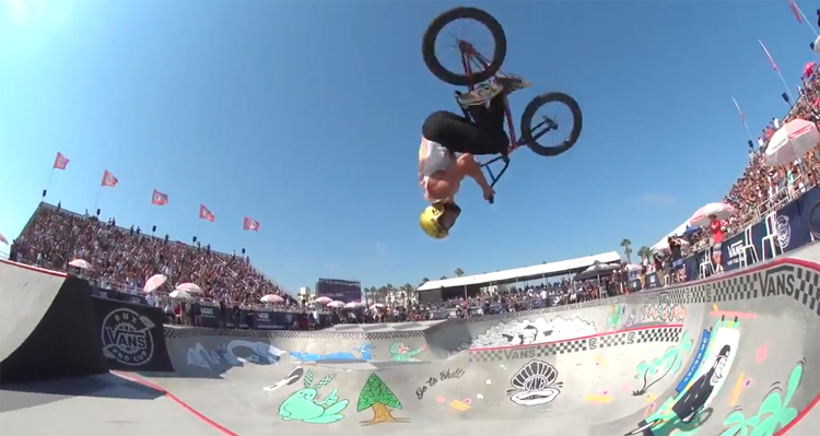 2017 Vans BMX Pro Cup –  Larry Edgar 2017 Overall Series World Champion