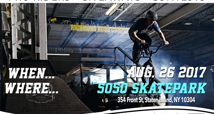Visionary Summer Jam at 5050 Skatepark Flyer