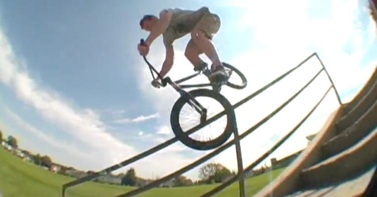 Rainer Etsweiler and Carl Espy BMX Video