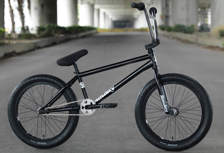 Sunday Bikes Gary Young 2018 Soundwave Special Complete BMX Bike
