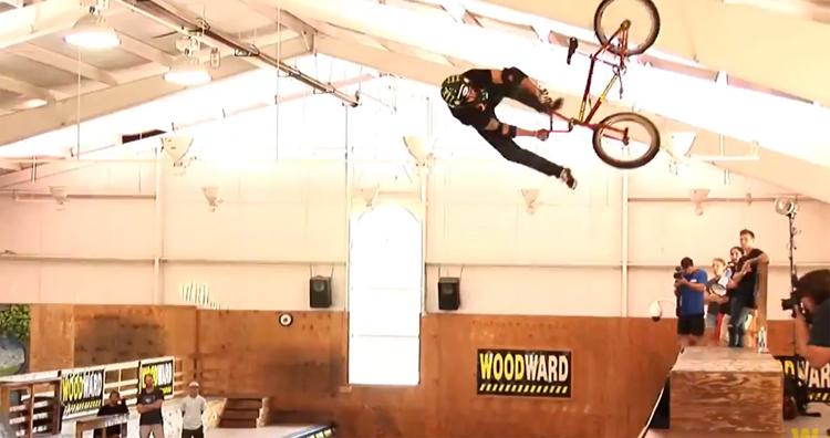 Woodward East – BMX Vert Demo