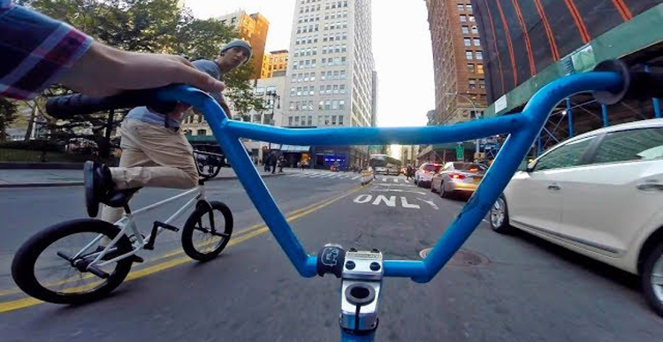 Billy Perry - BMX Squad In Downtown NYC