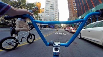 Billy Perry BMX Squad Downtown NYC