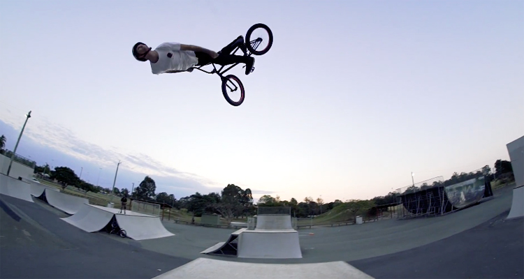 Colony BMX - Chris James Welcome To The Pro Team Video