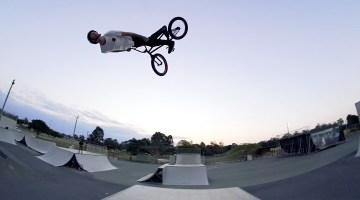 Colony BMX Chris James Welcome to Pro Team BMX video