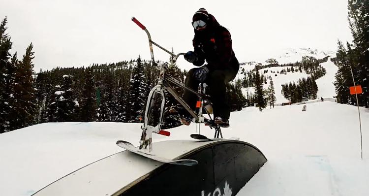 Drifter Snow Bikes Alberta Road Trip BMX video