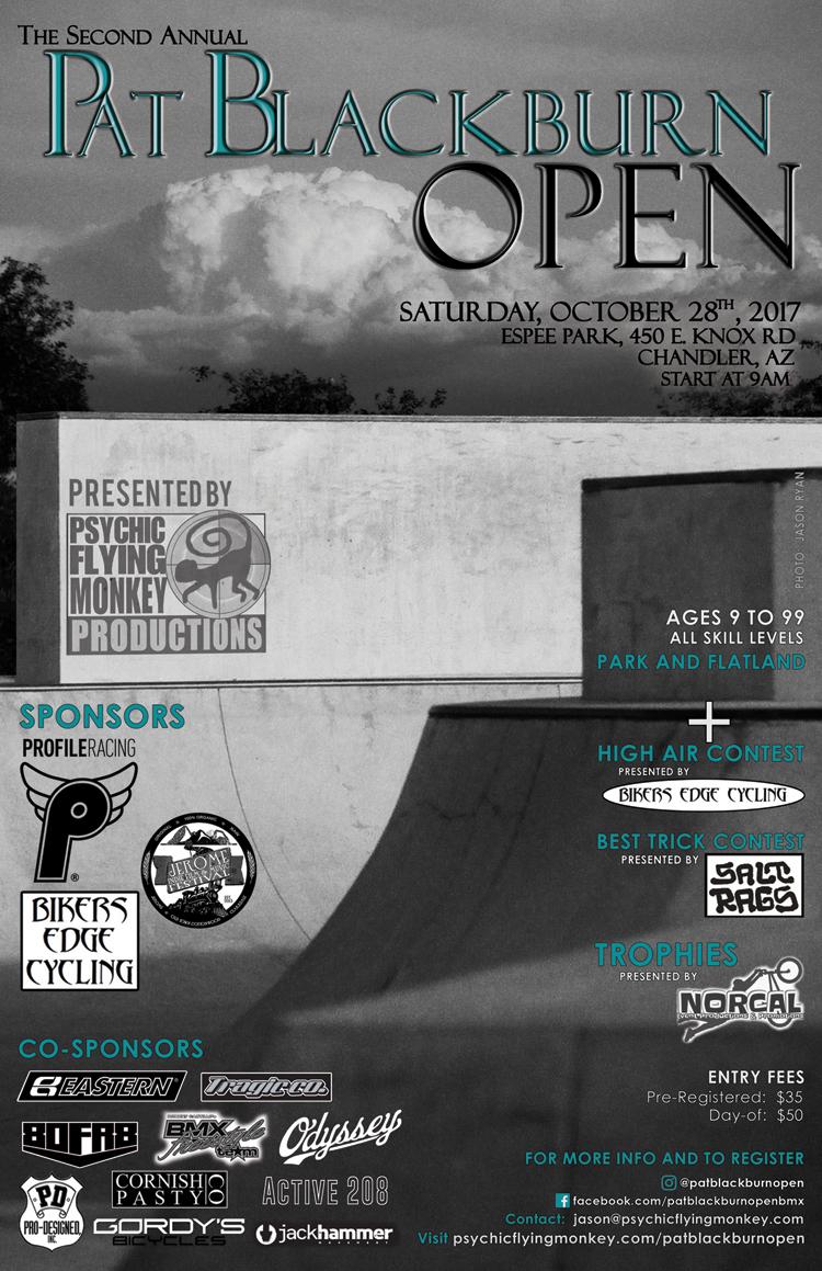 Pat Blackburn Open 2nd Annual BMX contest