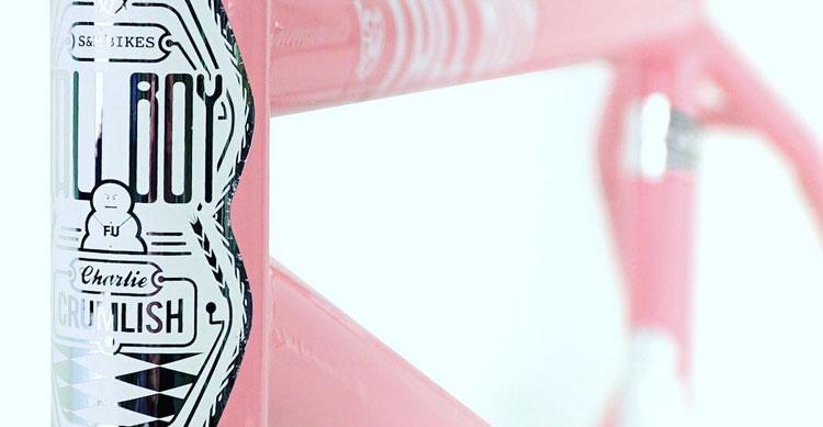 S&M Bikes – Wild Hog Pink Tall Boy Frame