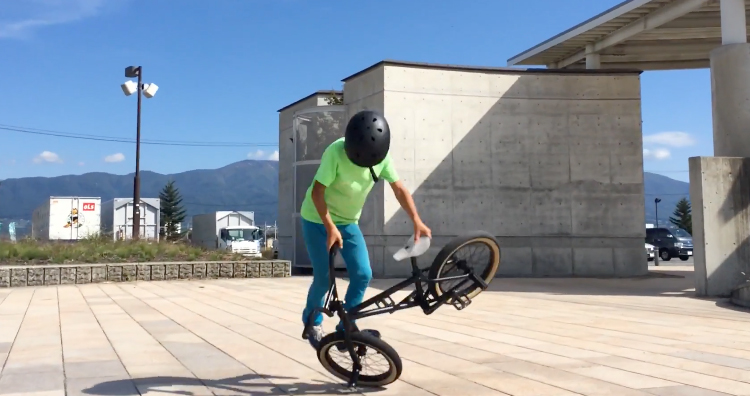 Takato 8 Year old flatland BMX rider