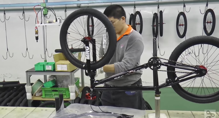 Touring a BMX Bicycle Factory In Taiwan with GT Bicycles