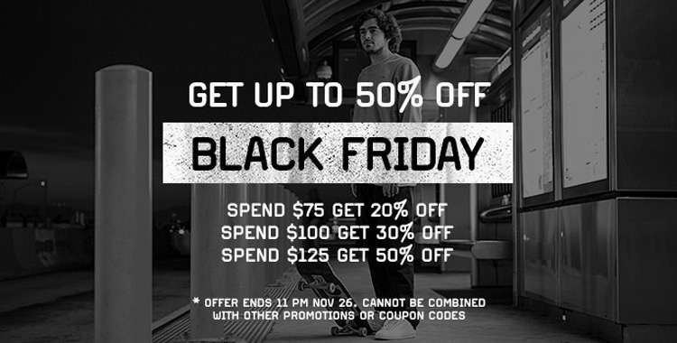 Etnies Black Friday Sale