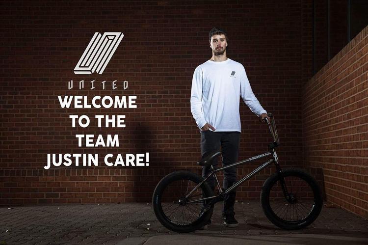 Justin Care United BMX