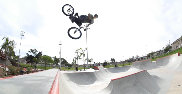 Colony BMX Victor Salazar San Diego BMX