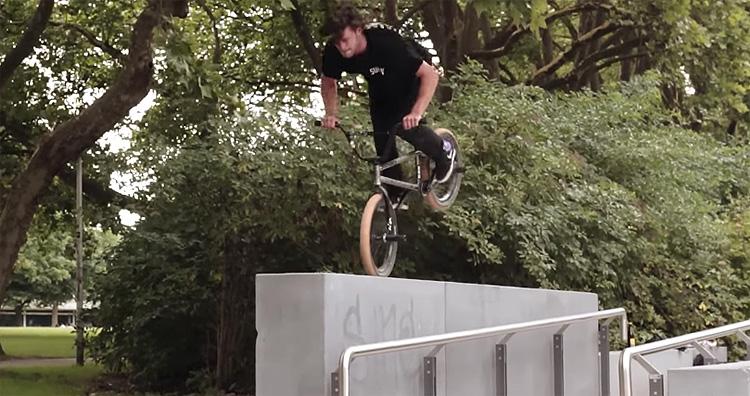 Sunday Bikes Robin Heiderich Lukas Hausler BMX video