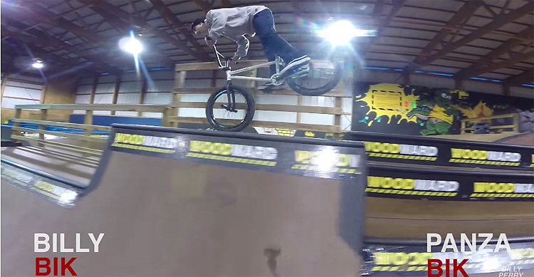 Game of BIKE – Billy Perry VS Anthony Panza at Woodward East