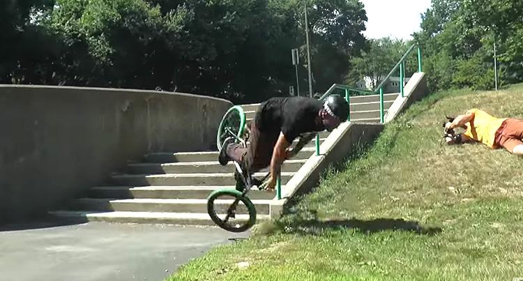 GT BMX Battle Clip Dan Conway Video