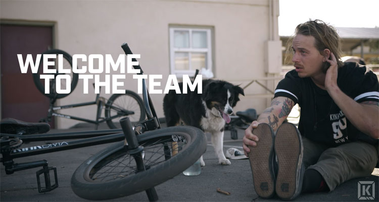Nathan Williams On Kink BMX - Welcome Video