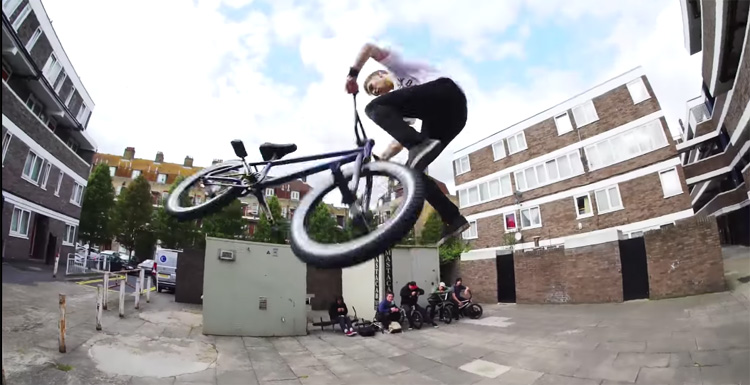 Odyssey BMX In The Streets of London