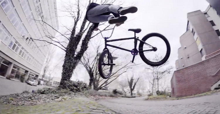 One Day Streets of Mannheim BMX video