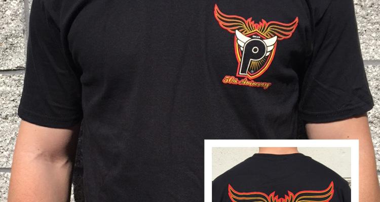 "Profile Racing – 50th Anniversary ""Shield"" Logo T-Shirt"