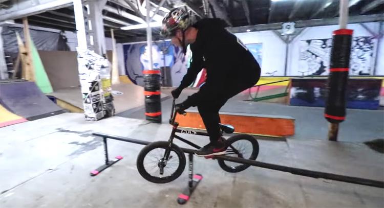 Scotty Cranmer New York Citys Only Indoor Skatepark BMX Video