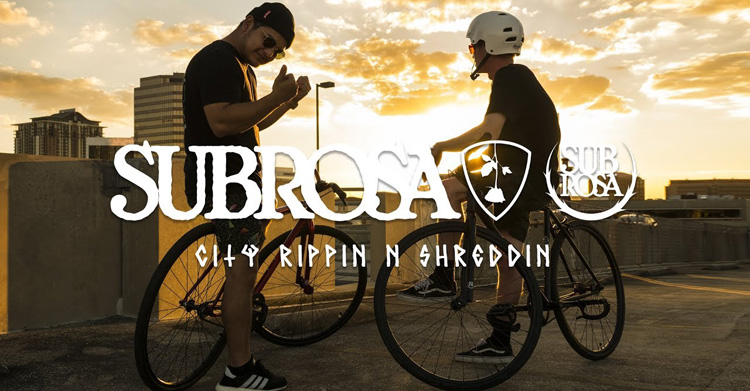 Subrosa Brand – City Rippin' on the UTB Bikes
