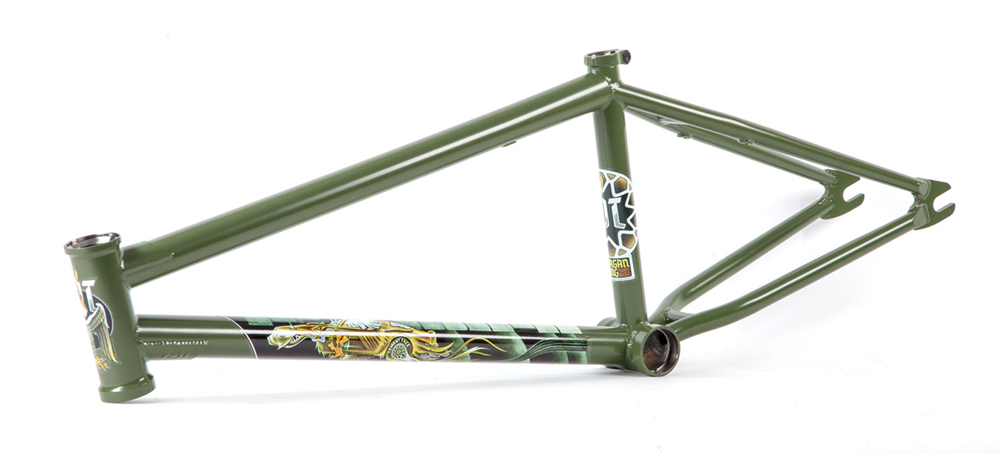 Fit Bike Co 2018 Hoodbird BMX Frame Green