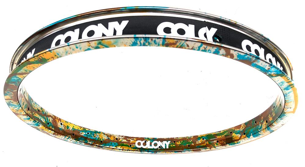 Colony BMX Camo Ano Contour Rim BMX
