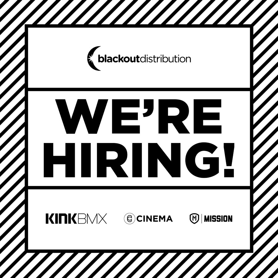 Blackout Distribution In House Marketing Coordinator BMX Jobs