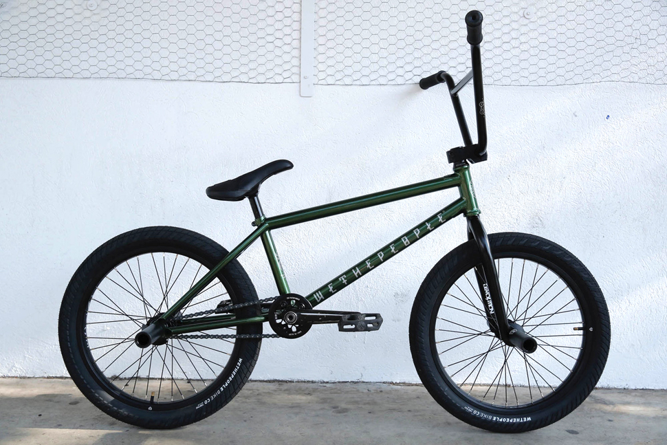 Jacman Hinns On Wethepeople BMX