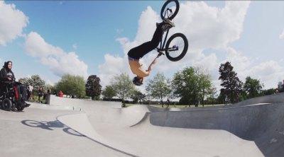 Brad Mulholland Seth Murray BMX video